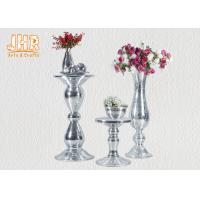 Quality Lightweight Glass Fiberglass Furniture Pedestal Plant Stand Round Corner Table for sale