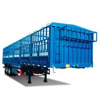 Wholesale SINOTRUK 50t CANG-GATE Heavy Duty Semi Trailers Flatbed With Side Wall Cargo Transport from china suppliers