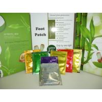 Wholesale Silver , gold Detox Foot Patch , foot detoxification pads with chinese herbal fomulation from china suppliers