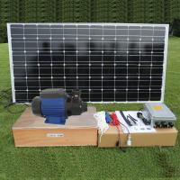 Dc Brushless Surface Solar Pond Pump Solar Powered Water Pump For Fountain And House Use Of