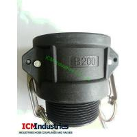 Buy cheap PP camlock coupling type B/ Polypropylene MalexCoupler BSP from wholesalers