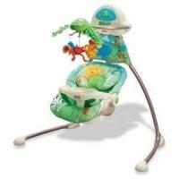 Buy cheap Fisher Price Rainforest Open-Top Cradle Swing from wholesalers
