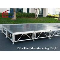 Buy cheap Adjustable Height Mobile Platform Stage For School Stage / Church Stage from wholesalers