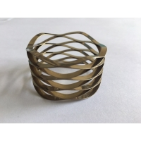 China Custom high precision stainless steel square wire wave spring wave disc spring OD45mm on sale