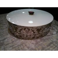 Custom White Stone Table : Quality Custom Made White Gloss Marble Modern Oval Coffee Tables for ...