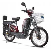 Wholesale 17'' Tube Tires Green Power E Bike Dark Red Battery Powered Bikes For Adults from china suppliers