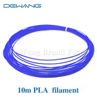 Wholesale Blue Color 10m 1.75mm Blue PLA Filament for 3D printing pen from china suppliers