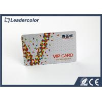 Wholesale ISO CR80 VIP Frosted Plastic Business Cards Offset Printing 0.76mm Thickness from china suppliers