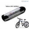 Buy cheap Waterproof 36V E Bike 36 Volt Battery , Electric Bike Water Bottle Battery from wholesalers