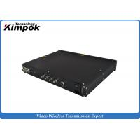 Wholesale 1080P Wireless COFDM Video Receiver , COFDM Transmitter And Receiver from china suppliers
