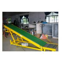Wholesale Flat Belt Shipping Roller Conveyor , Live Roller Conveyor For Climbing from china suppliers