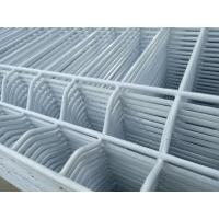 Wholesale 5x10cm Galvanized 3D Wire Mesh Fence With Steel Garden Gate Door from china suppliers
