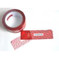 Wholesale Digital Russia Red Security Tape Provides Maximum Security With Perforation from china suppliers