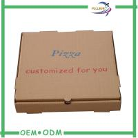 Wholesale Small Brown Corrugated Boxes Paper Cardboard For Pizza Packing from china suppliers