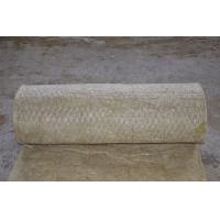 China Soundproofing Rockwool Insulation Blanket , Mineral Wool Blanket For Building wholesale