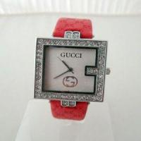 Wholesale Red Strap Suqure Face Watch from china suppliers