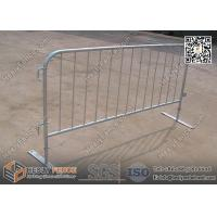 Steel Flat Foot Crowd Control Barriers | 1.1m height | Australia and New Zealand Standard