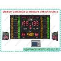 Electronic Digital Stadium Basketball ScoreBoards  with 24s Shot Clock and Timer display