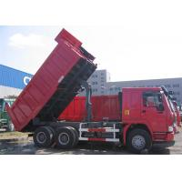 Quality Sinotruk Howo Heavy Duty Dump Truck 6x4 For Construction Material And Mine for sale
