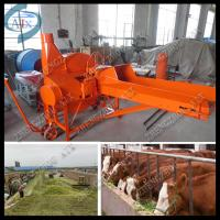 Wholesale animals silage making equipment wheat straw cutting machine from china suppliers