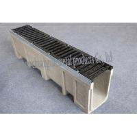 Quality linear drain trench/ drainage channel/polymer trench drain for sale