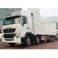 Buy cheap 50 Tons SINOTRUK HOWO A7 8x4 Box Stake Truck 336/371 Horsepower from wholesalers