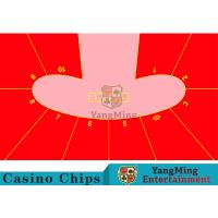 Wholesale 10P Pod Shape Red Color Dice Table Layout , Custom Layout Of Roulette Table  from china suppliers