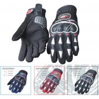 Wholesale Microfiber Leather Motorcycle Riding Gloves Grey Insulated Motorcycle Gloves from china suppliers