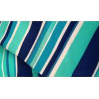 Wholesale Multi Colored Plain Horizontal Striped Fabric , Modern Polyester Curtain Fabric from china suppliers