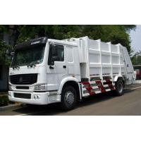 Wholesale White Color 12m3 Garbage Compactor Truck SINOTRUK HOWO 4x2 6000L Volume from china suppliers