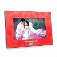Wholesale Digital Photo Frame with 800 x 480 Pixels High Resolution and Gravity Sensor Function from china suppliers