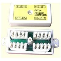 Wholesale Ethernet CAT 6 connection Box, 110 Punch-down Style; White junction box from china suppliers