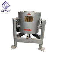 China Vertical Centrifugal Coconut Oil Filtering Equipment 40 - 50kg / Batch Capacity on sale