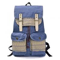 Wholesale Small Moq Canvas Sling Leisure Travel Bags Korean Style Backpack 50L Capacity from china suppliers