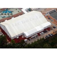 Wholesale A Shaped Outside Party Tents , Flame Retardant Marquee Event Tent from china suppliers