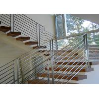 China 201 / 304 / 316 Stainless Steel Railing Smooth Surface Any Shape Available on sale