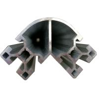 Wholesale Corner Aluminium Extruded Profiles For Construction Frame Industrial from china suppliers