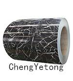 Wholesale Color Coated Stainless Steel Strip Coil Stone Grain For Interior Decoration Material from china suppliers