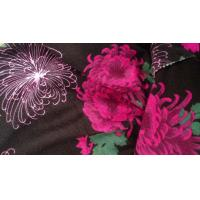 "Wholesale Reactive Printed Floral Patterned Jersey Fabric Width 58 / 60"" 40S + 30D from china suppliers"