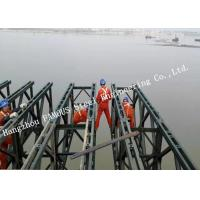 Wholesale Customized Design Prefabricated Steel Structure Bailey Bridge Construction Long Span from china suppliers