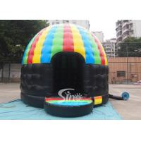 Kids N adults party inflatable disco dome bouncy castle made of lead free pvc tarpaulin