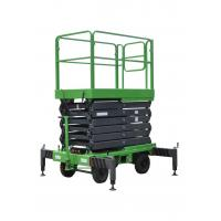 Buy cheap 7.5 Meters Height Mobile Hydraulic Lift Platform with Extension Length 1000mm from wholesalers
