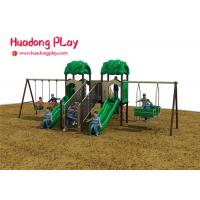 Wholesale Kid Plastic Amusement Park Outdoor Playground Slides About 7 Volume Cubic Meter from china suppliers