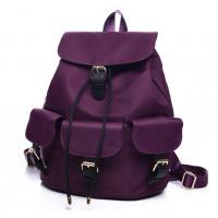 Wholesale Summer new retro waterproof nylon backpack schoolbag shoulder bag female college wind from china suppliers