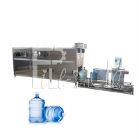 Wholesale PLC 300BPH 18.9L Pure Water Bottle Filling Machine Corrosion Resistant from china suppliers