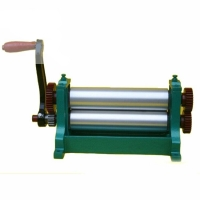 Wholesale 310mm 450mm Manual Beeswax Sheet Mill Roller Machine from china suppliers