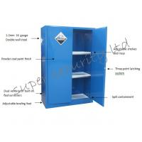 Industrial cabinet with exclusive paddle lock acid ...