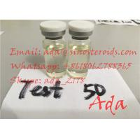 China 100% No Ester Natural Testosterone Base Powder Supplement Test Suspension 50mg ml Finished Vials wholesale