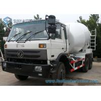 China Dongfeng 153 White 10 Wheeler 8 M3 Beton Mixer Truck With 280 Hp Cummins Engine on sale