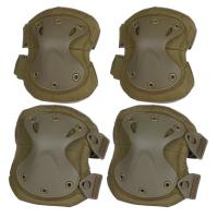 China Tactical Combat Molle Gear Accessories Knee Protection Pads , High Safe Knee Pad wholesale